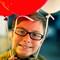 Callie balloon portrait