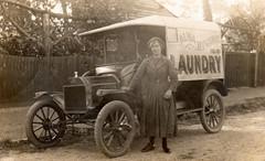Nan and her Van