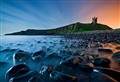 Dunstanburgh by Moonlight
