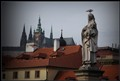 above the roofs of Prague...