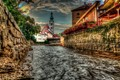 Cesky Krumlov Early Morning