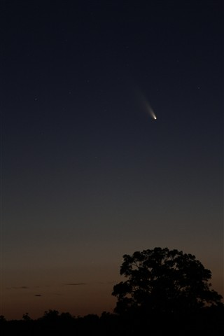 Comet PanSTARRS March 3     7.56pm WAST