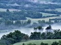 Morning mist, Corrèze, France