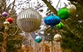Outside Glass Ornaments