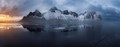 Vestrahorn Frozen Reflection