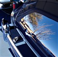Reflection in a Rumble Seat, '37 Buick