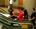 SANTA CLAUS AT THE MALL