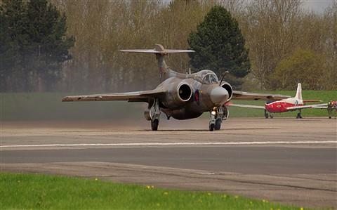 Buccaneer landing