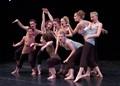 9 dancers dancing