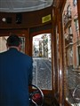 Baxia funicular cars in Lisbon