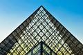 Louvre Museum pyramid