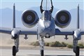 A-10 Thunderbolt Under The California Sun