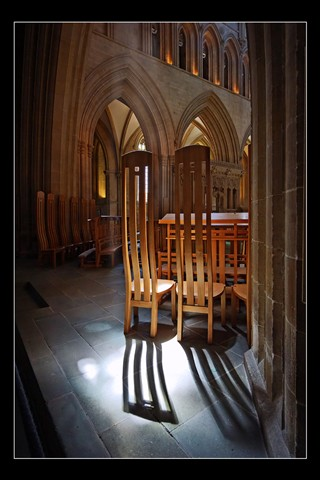 Wells Cathedral formal chairs
