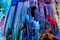 Colorfull stalactites