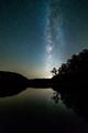 Milky Way over Boley Lake