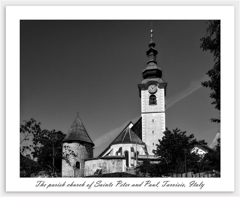 Tarvisio parish church