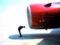 Beware of jet intake!