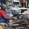 food seller at Velankanni