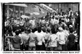 Cremation attended by hundreds - Prof. Veer Bhadra Mishra, Varanasi March 2013
