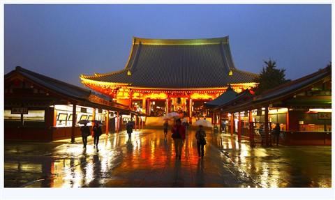 Sensoji Temple, Tokyo - 645 A.D.  (Taken Nov 2013)