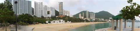 Repulse Bay Panorama at the beach - HONG KONG