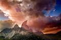 Storm over Dolomites