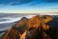 Pieniny Mountains, sunrise