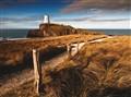 Llanddwyn island lighthouse Wales