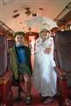 Art Deco Inside train