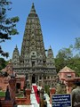 The Mahabodi Temple in Bodhgaya, India