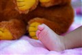 my baby's toes...