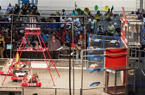 First Robotics - Team 1717: Sequence 2 Shot 2