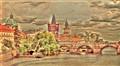 Vitava River in Prague