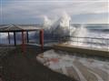 Bordighera's storm