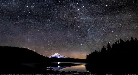 Trillium Lake Mount Hood Dark Night Sky Nov 10th 2014_stitch a 5000 pxl f for fill 2