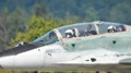 Slovakian Mig-29 pilots greeting the spectators at SIAF 2017