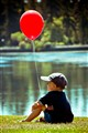 Boy and Balloon.