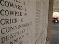WW I Names of the Dead