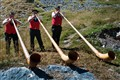 Swiss Alphorn Players Trio