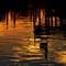 Sunset Dock Reflection