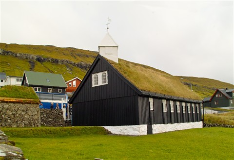 Wooden Stave Church, Faroes Islands