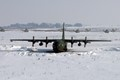 C-130 Hercules during winter