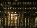 Rainy night, St Mark's Square
