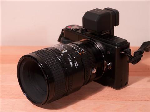 GX! Nikon 60mm f2.8D Macro