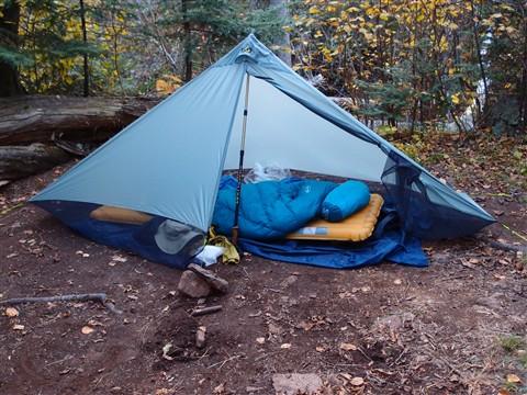 Mark's tent