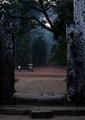 temple dusk