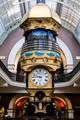 Suspended clocks at Sydney