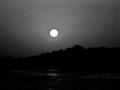Full moon or Sun??? over the River Mandovi, Goa
