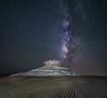 White Desert Sky