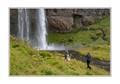 Wedding Photographer at Waterfall